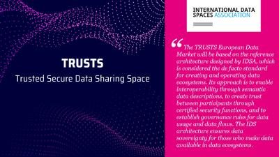 """TRUSTS"" enables European data markets based on the IDS architecture"