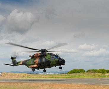 Australian Aerospace Delivers 15th MRH90 Helicopter