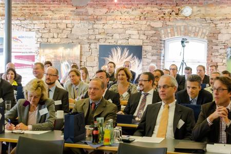 Die Teilnehmer des Anwender- und Geschäftsprozess-Symposiums 2013 waren beeindruckt, welche Möglichkeiten EVI, TINA und CURSOR-CRM schon heute bieten und was sie in Zukunft leisten werden. Foto: S. Barthel