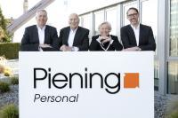 v.l. geschäftsführender Gesellschafter Holger Piening, Gründer Jürgen und Agnes Piening, 2. Geschäftsführer Louis Coenen