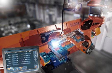 Die C-Gate IoT Platform bietet ein umfassendes Monitoring von QIROX-Roboteranlagen und QINEO-Schweißgeräten