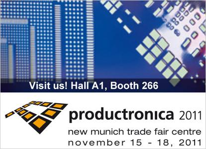 LAN measurement technology by bmcm at productronica 2011