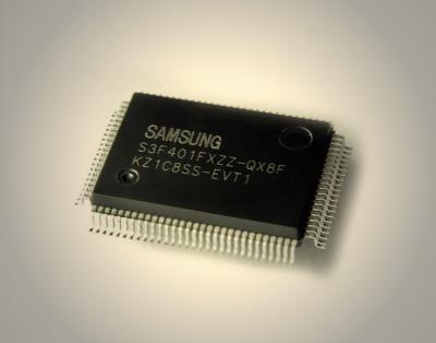Samsung's ARM7TDMI-based S3F401F 16/32-bit MCU: 90 MHz clock frequency, 256 Kbyte integrated flash memory and a large number of useful motor control peripherals