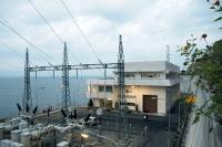 Wasserlaufkraftwerk in Lau Renun (Indonesien)