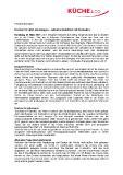 [PDF] Pressemitteilung: Küchen für alle Lebenslagen - selbstverständlich mit Küche&Co
