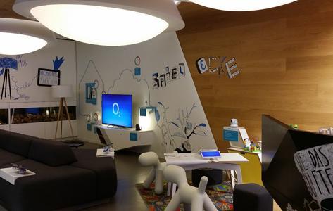 O2 Live Store in Berlin (Tauentzienstraße 8) mit D-Link Smart Home Inszenierung