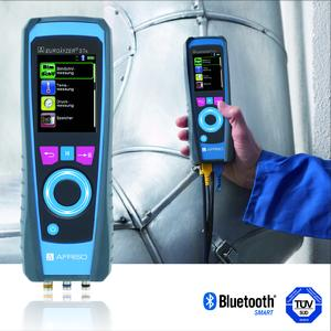 The new AFRISO EUROLYZER STx flue gas analyser is designed for measuring oil, gas and pellets fired heating systems and CHP systems as well as for checking gas fired systems for CO leaks. In conjunction with the free app EuroSoft mobile, the unit provides for modern data communication
