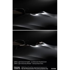 GINA Light Visionary Model - raising head rests