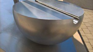 Bild 4: Skulptur nach Entlackung (Detailansicht)