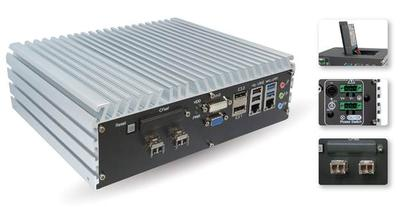 Vecow Announces Fan-less Embedded System with 2 Fiber SFPs