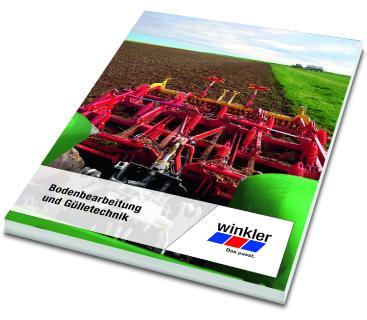 """Neuer winkler Katalog """"Bodenbearbeitung und Gülletechnik"""""""