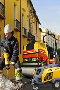 Atlas Copco verstärkt Fokus auf die Bauindustrie