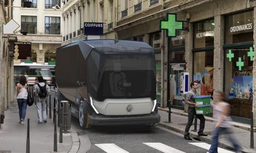 Mit der Designstudie Connect entwirft Renault Trucks im Maßstab 1:25 den Lkw der Zukunft