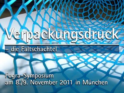 """Fogra-Symposium """"Verpackungsdruck – die Faltschachtel"""""""