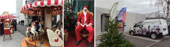 Weihnachtsmarkt zum zehnjährigen Firmenjubiläum der Heidelberg iT Management GmbH & Co. KG. Foto: Heidelberg iT