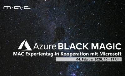 Azure Black Magic - der MAC Expertentag