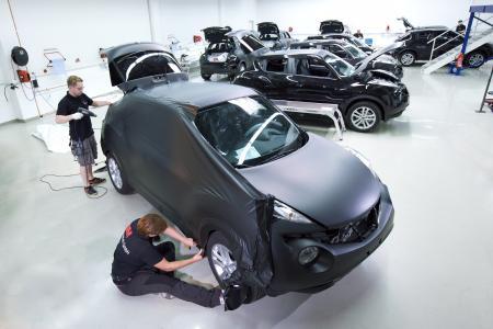 Mit der neuen MCS Select Garantie für zertifizierte Partner erweitert 3M die Garantieleistungen für Grafikprodukte wie etwa Fahrzeugfolierungen nochmals. Foto: 3M