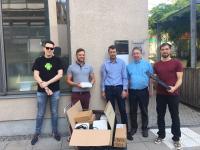 inovex spendet Hardware an Nikolauspflege Stuttgart