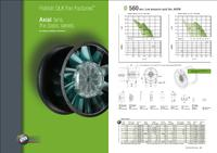 New axial fan catalogue from Pollrich DLK Fan Factories