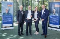 Preisträger des Karl-Diederichs-Stipendiums 2019 bei der Verleihung am 27.06.2019 während der Jahrestagung Massivumformung in Hagen