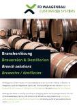 Informationsflyer für Brauereien & Destillerien