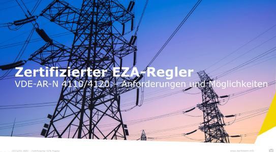 Regelung von Strom-Erzeugungsanlagen auf den Punkt gebracht