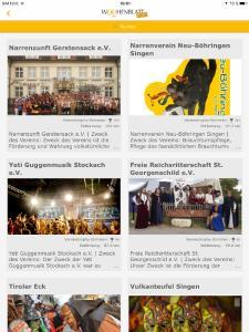 Screenshot Vereinstrophy