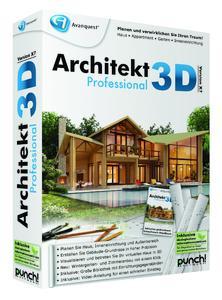 Ideal für die Planung der eigenen vier Wände: Architekt 3D X7 (Professional) 3D