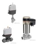 Electric, efficient, eSy - valves with new motorized eSy actuators