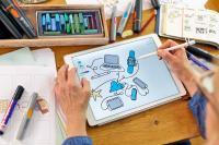 handgezeichnete Illustrationen erhöhen den Aufmerksamskeitwert