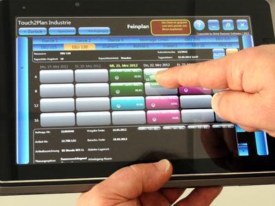 Direkt integriert in SAP ERP: Die Feinplanung von Fertigungsaufträge...