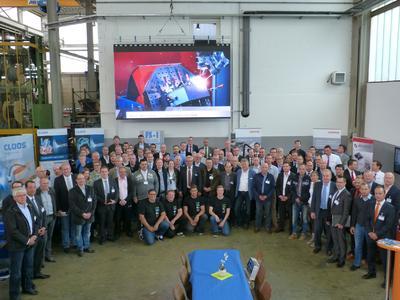 Das Haigerer Traditionsunternehmen begrüßte rund 100 Fachleute aus ganz Deutschland