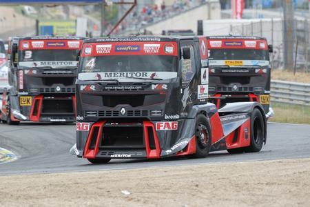Truck Racing in Jarama: Renault Trucks hat sein Ziel erreicht!