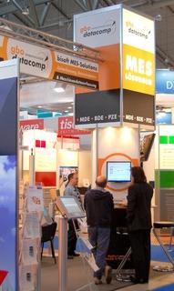 gbo datacomp GmbH - Stand auf der IT & Business 2009 - Neue Messe Stuttgart