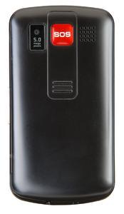 Das amplicomms PowerTel M9000 mit echter Notruftatse auf der Rückseite