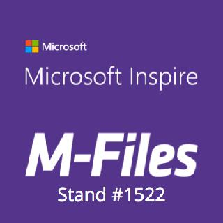 M-Files zeigt intelligentes Informationsmanagement für Office 365 auf der Microsoft Inspire 2018