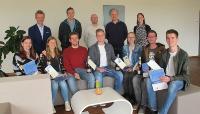 Auszubildende der FIS, einem der führenden SAP-Systemhäuser in D-A-CH / Abb. FIS