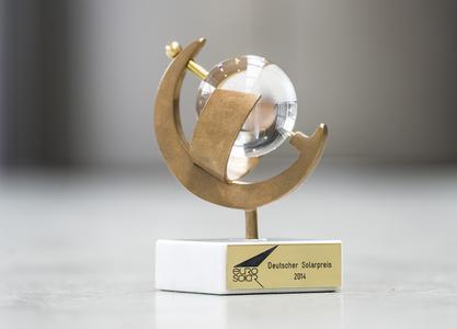Deutscher Solarpreis 2014 Trophäe