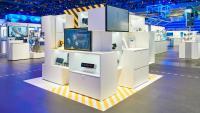 Foto (hl-studios, Erlangen): Themenhof SIMATIC Safety Integrated am Siemens-Stand auf der SPS IPC Drives 2018
