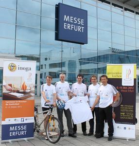 v.l.n.r.: Wieland Kniffka, Dirk Ellinger, Michael Eismann, Steffen Fischer, Stefan Goetz / Foto: Messe Erfurt GmbH