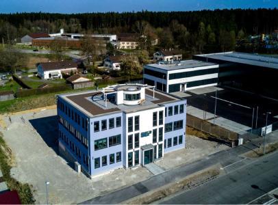 Das neue Firmengebäude der SEP AG in Holzkirchen