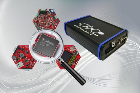PLS liefert optimierte Debug-Tools für die neue Mikrocontroller-Familie XMC4000 von Infineon