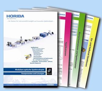 """Broschüre """"Modulare optische Spektroskopie - Komponenten und Lösungen"""""""