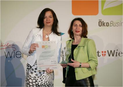 Vorschaubild Ueberreichung OekoBonus Auszeichnung