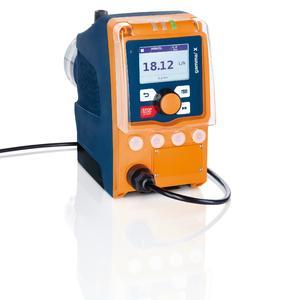 Magnet-Membrandosierpumpe gamma/ X zur Dosierung von 2 bis 45 l/h bei einem Gegendruck von 25 bis 2 bar
