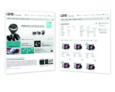 New IDS website with integrated B2B Web Store
