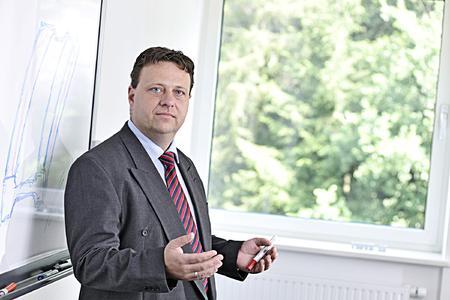 Volker Jarosch, verantwortlich für das Business Development bei Hymer-Leichtmetallbau