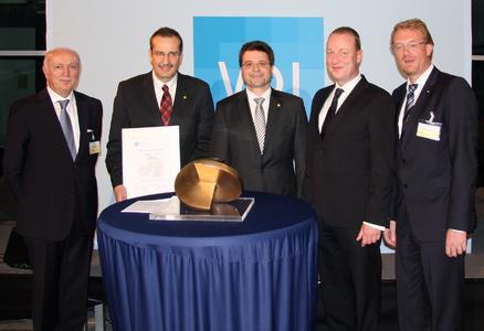 Award ceremony in Garching (Munich)