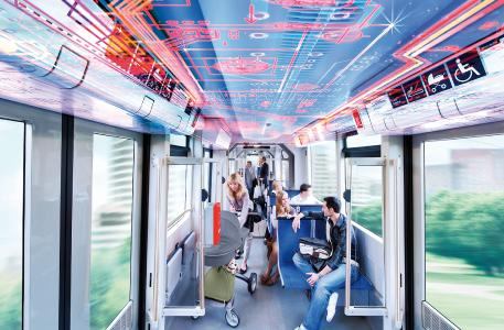 The inner workings of a light rail vehicle I © Kiepe Electric GmbH
