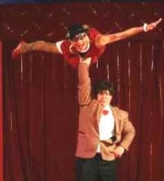 Trixa & Roy - Comedy-Partner-Akrobatik